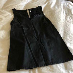 BB Dakota pleather mini shift dress